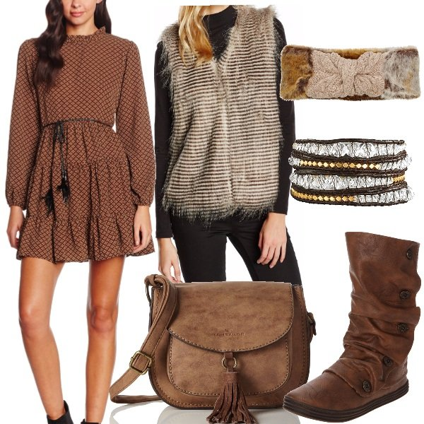 Outfit Autunno boho