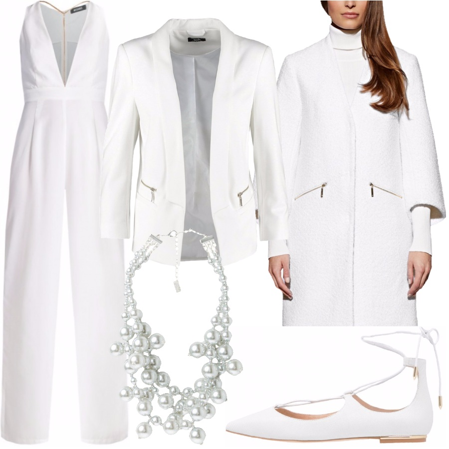 Outfit Elegante in bianco