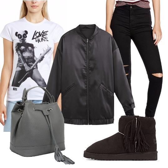 Outfit Grinta e stile