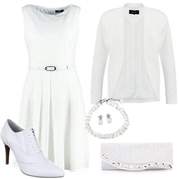 Outfit Raffinato bianco
