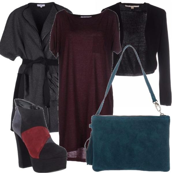 Outfit Colori profondi