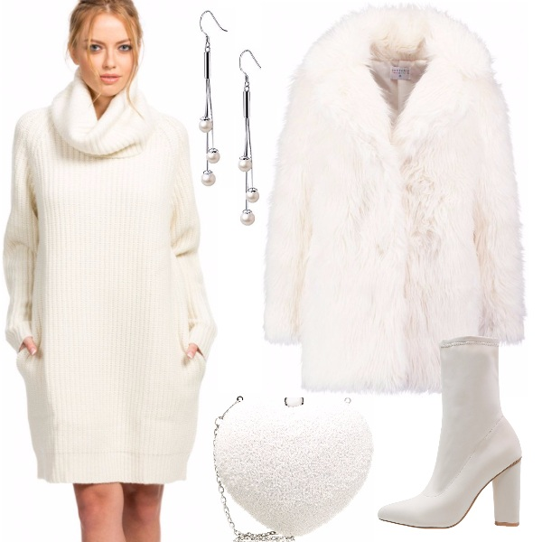Outfit Morbidezza total white