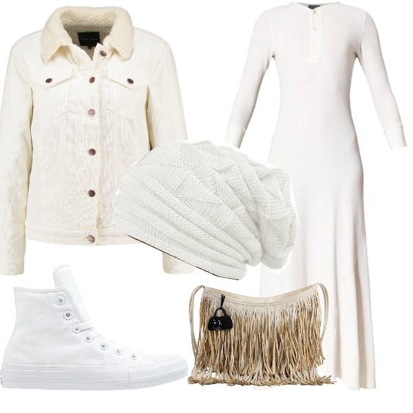 Outfit Bianco semplice