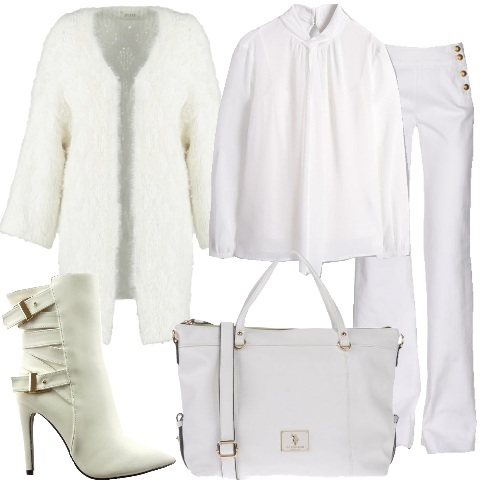Outfit Aperitivo in total white