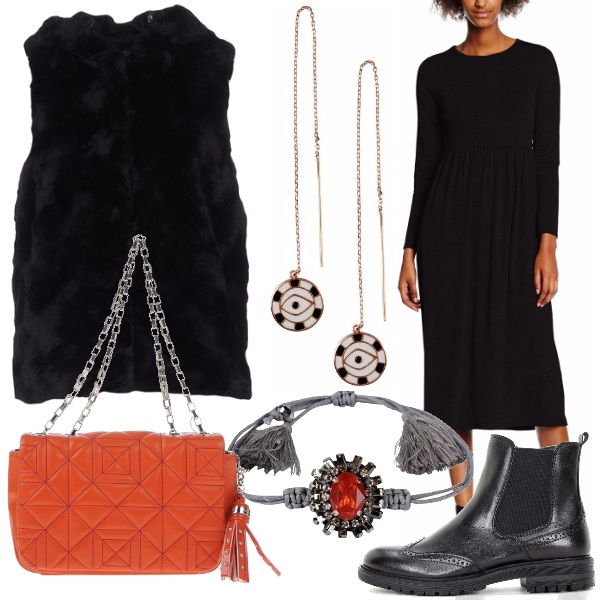 Outfit Un tocco glamour