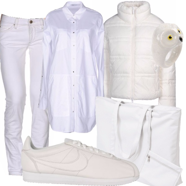 Outfit Bianco sportivo