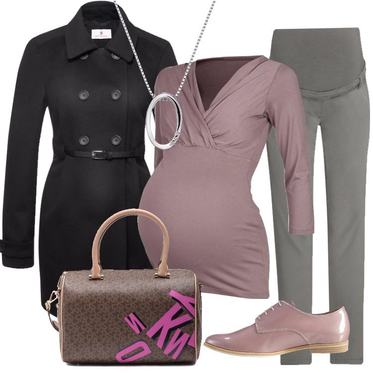 Outfit Mamma in ufficio