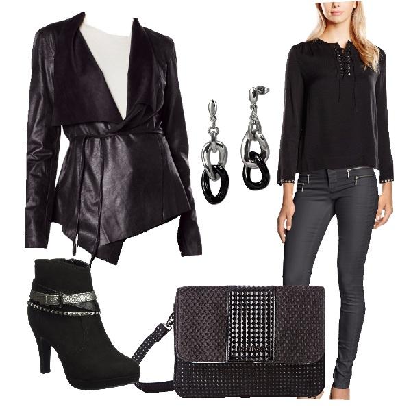 Outfit Grintosa e sofisticata