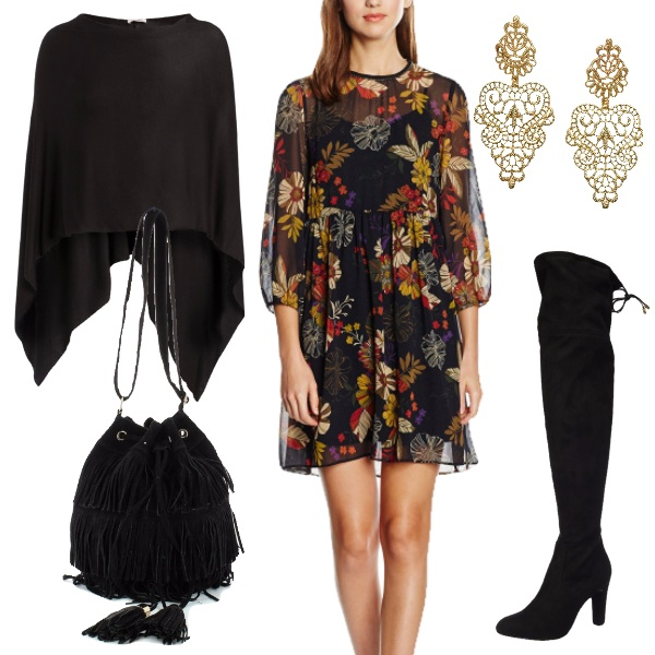 Outfit In stile bohemian