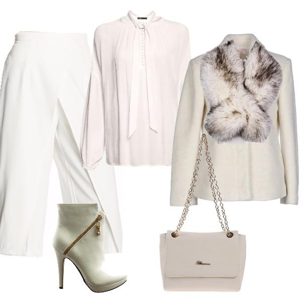 Outfit L'eleganza in bianco