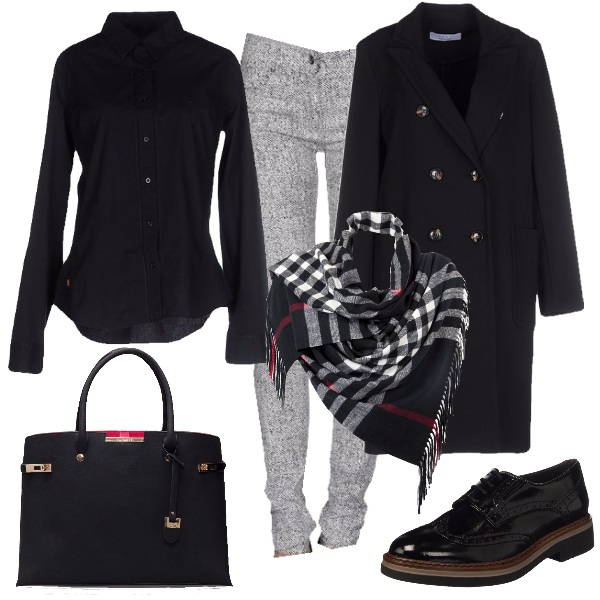 Outfit Nero urbano