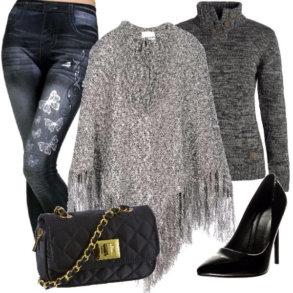 Outfit Tacchi e jeans connubio perfetto