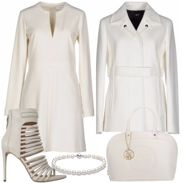 Outfit Purezza in bianco