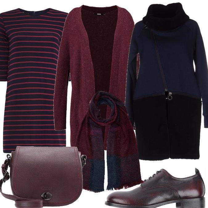 Outfit Righe di colore