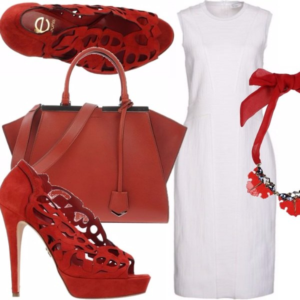 Outfit Red hot