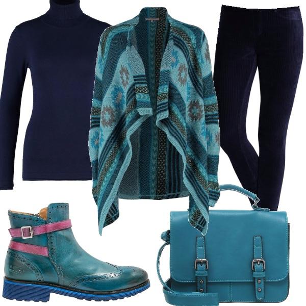 Outfit Stivaletto colorato