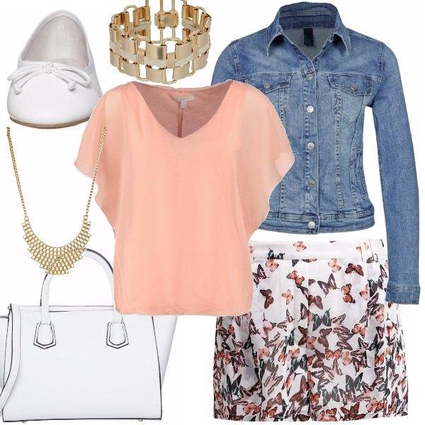 Outfit Come una farfalla