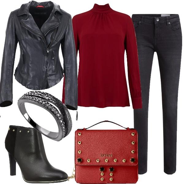 Outfit Spunti di rosso