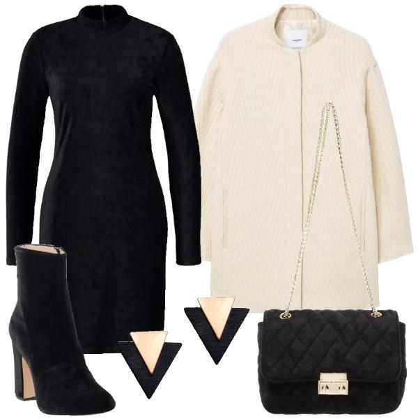Outfit Velluto elegante