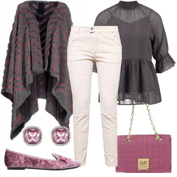 Outfit Mocassino vellutato