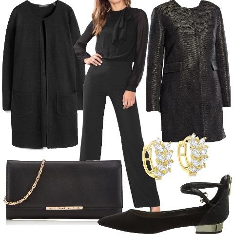 Outfit Eleganza sobria ma con glamour