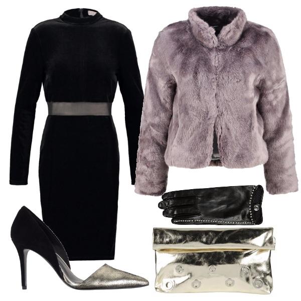 Outfit Nero e silver