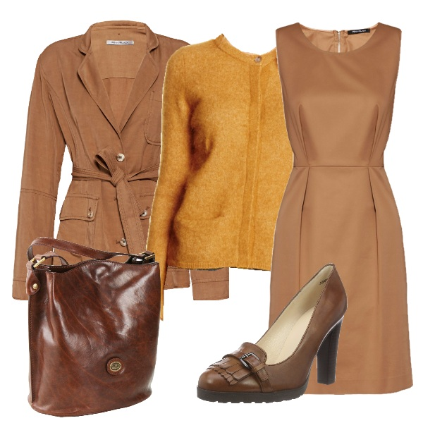 Outfit Al lavoro in beige