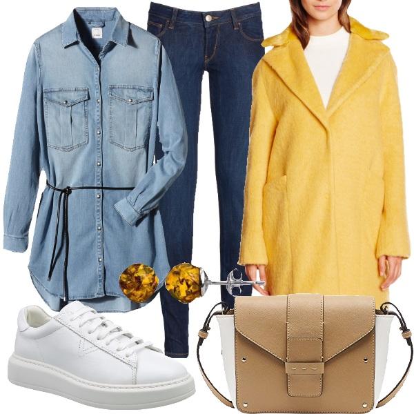 Outfit Amo il giallo