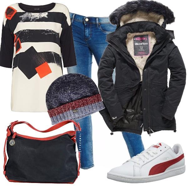 Outfit Al freddo con stile