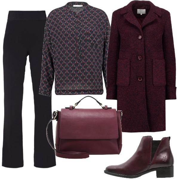 Outfit Mannish per l'ufficio