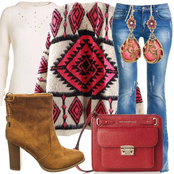 Outfit Calda e colorata