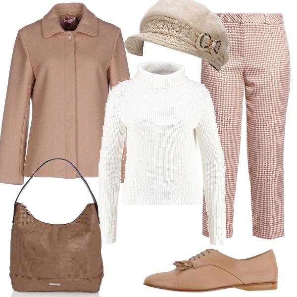 Outfit Delicato caldo beige