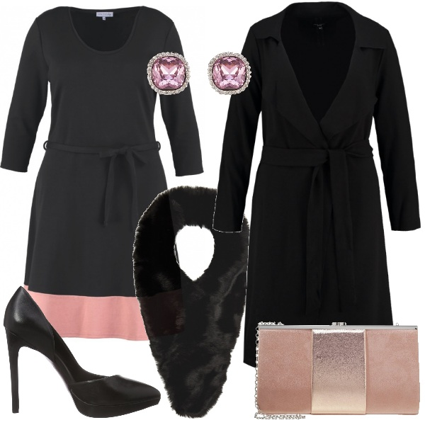 Outfit Elegante curvy