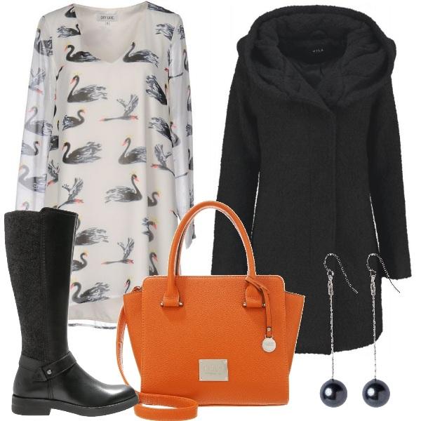 Outfit Un tocco di arancio