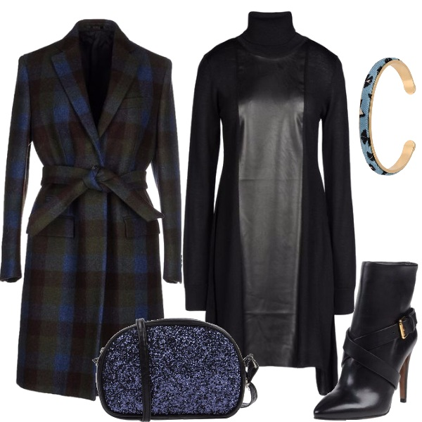 Outfit Cappotto check