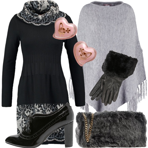 Outfit Romantica d'inverno