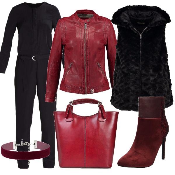 Outfit La collana vellutata