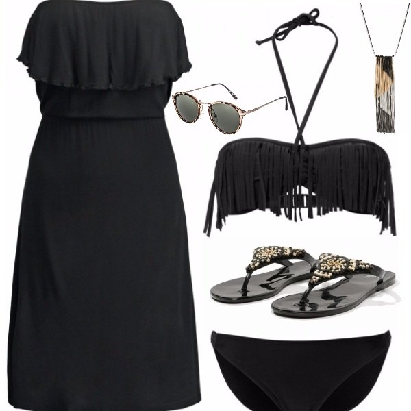 Outfit Black summer
