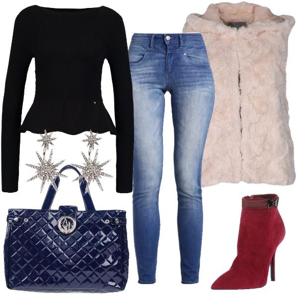 In ufficio con i jeans outfit donna Trendy per ufficio | Bantoa