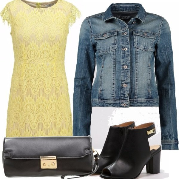 Outfit Bee-color