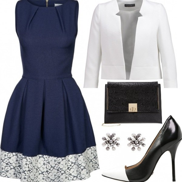 Outfit Outfit elegante anni '50