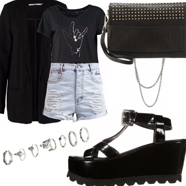 Outfit Punk rock