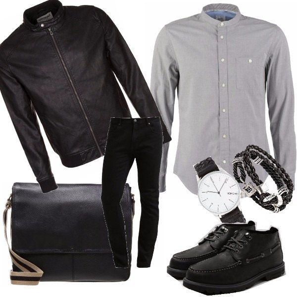 Outfit Black city