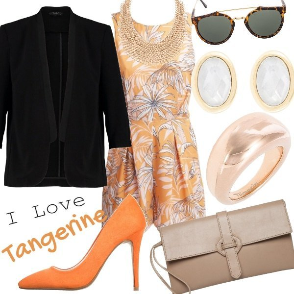 Outfit I Love Tangerine