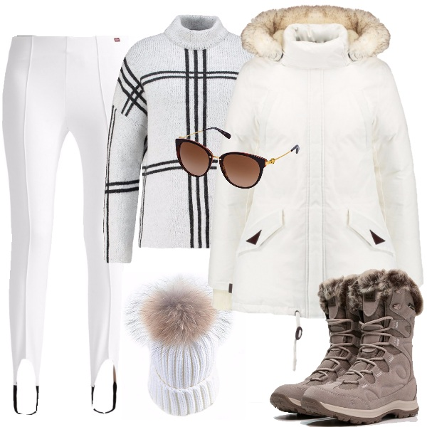 Outfit Trendy sulla neve
