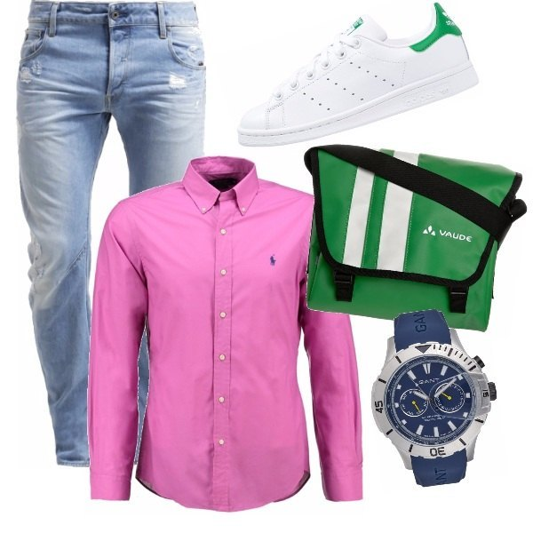 Outfit Mr. pink