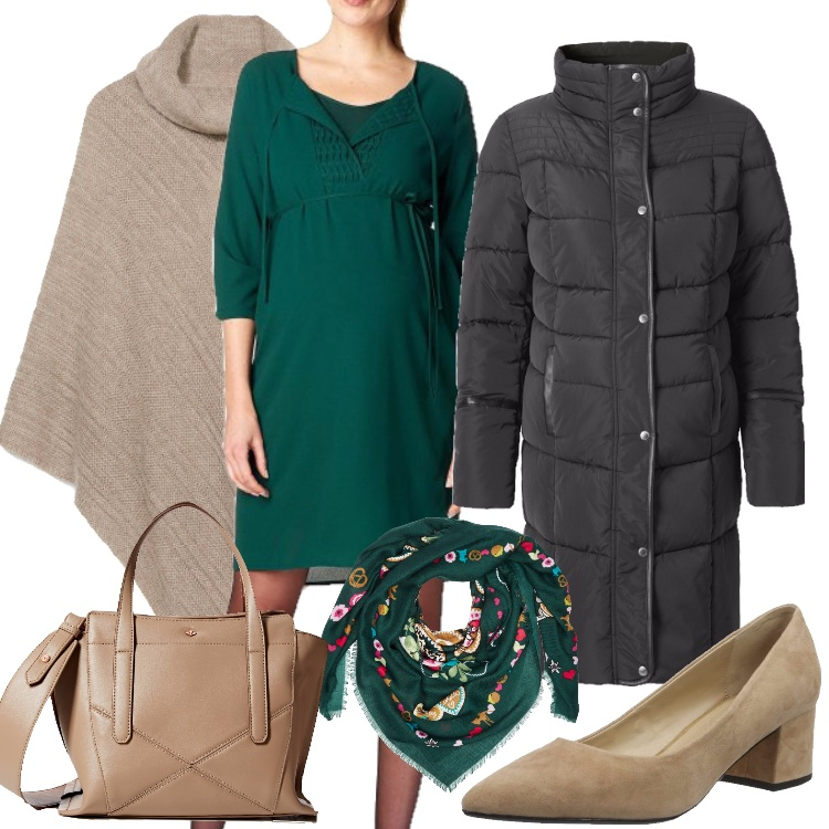 Outfit Attesa in verde
