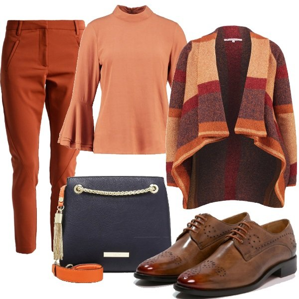 Outfit Colori ambrati