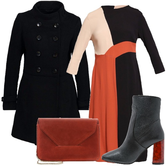 Outfit A spasso col cappotto