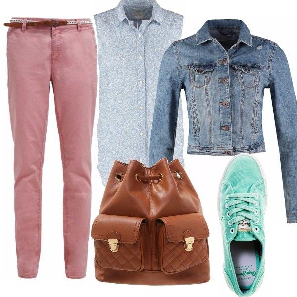 Outfit Picnic di fine estate